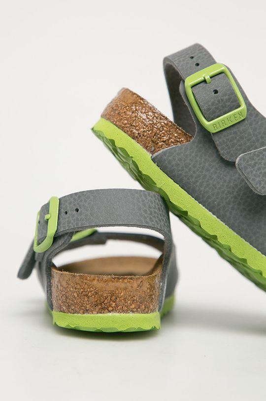 Birkenstock - Dětské sandály Milano Kinder  Svršek: Umělá hmota Vnitřek: Textilní materiál, Přírodní kůže Podrážka: Umělá hmota