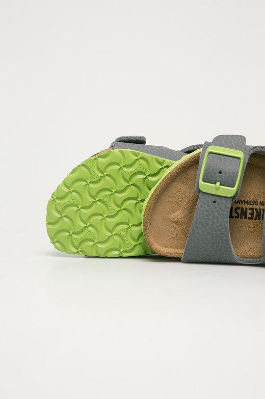 šedá Birkenstock - Dětské sandály Milano Kinder