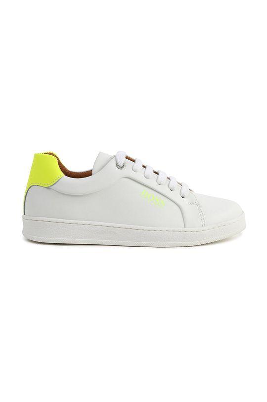 biela Boss - Detské topánky Chlapčenský