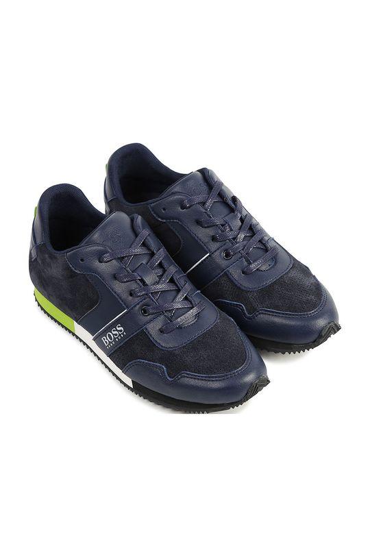 Boss - Detské topánky tmavomodrá