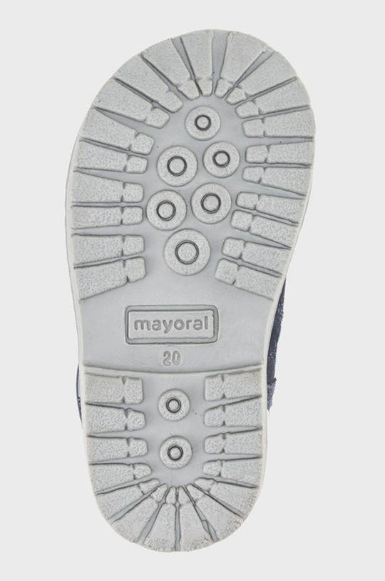 tmavomodrá Mayoral - Detské semišové topánky