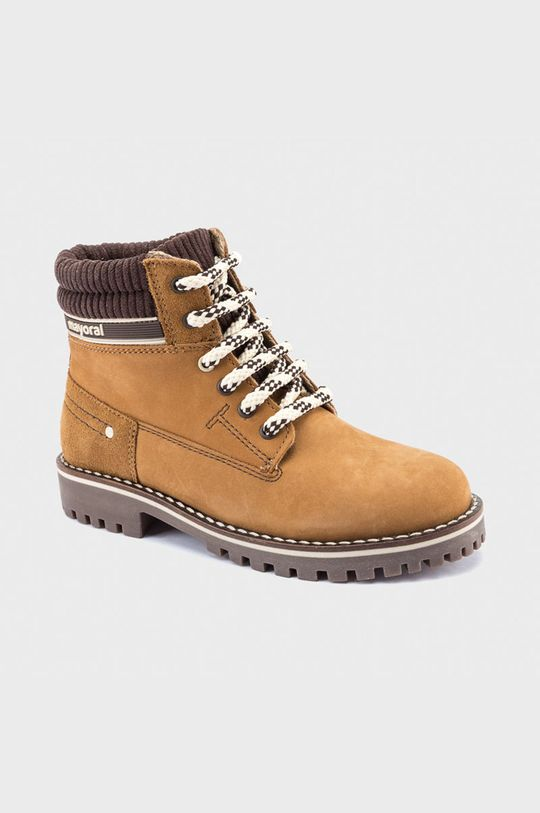chihlimbar Mayoral - Pantofi din piele intoarsa pentru copii De băieți