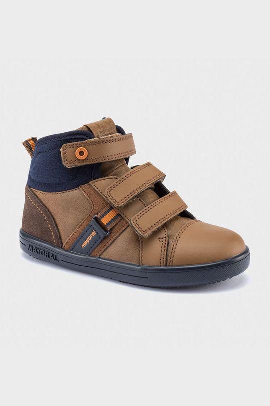 zlatohnědá Mayoral - Dětské boty Chlapecký