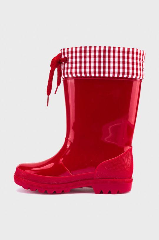 Mayoral - Detské gumáky červená