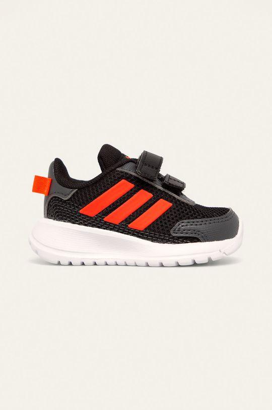 чёрный adidas - Кожаные ботинки Tensaur Run I Для мальчиков