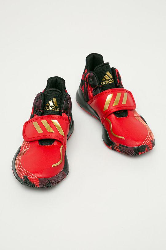 adidas Performance - Buty dziecięce Deep Threat J czerwony