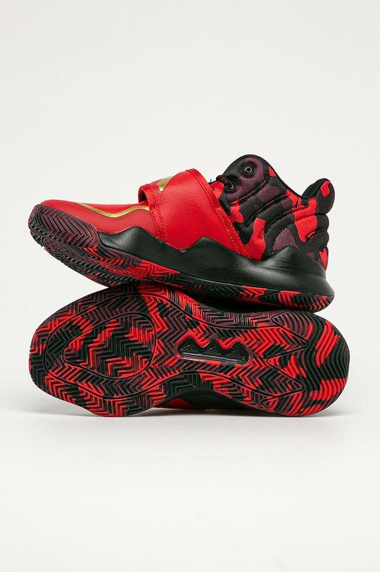 czerwony adidas Performance - Buty dziecięce Deep Threat J