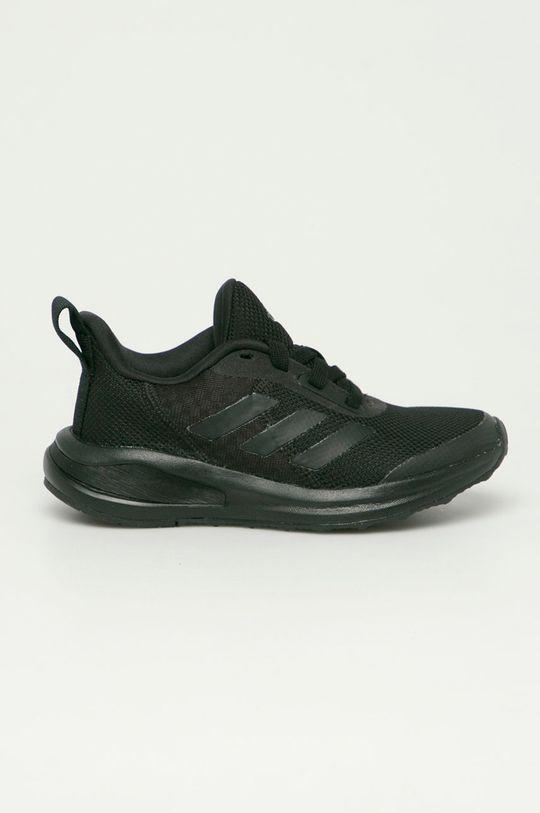 čierna adidas Performance - Detské topánky FortaRun Chlapčenský