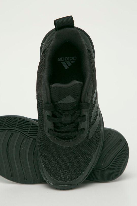 čierna adidas Performance - Detské topánky FortaRun