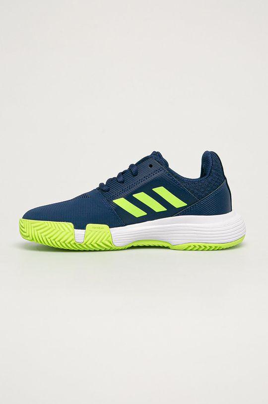 adidas Performance - Detské topánky CourtJam xJ  Zvršok: Syntetická látka, Textil Vnútro: Textil Podrážka: Syntetická látka