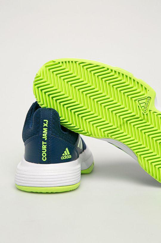 tmavomodrá adidas Performance - Detské topánky CourtJam xJ