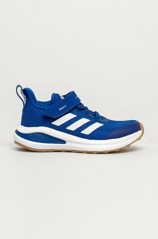 modrá adidas Performance - Dětské boty FortaRun EL K gum Chlapecký