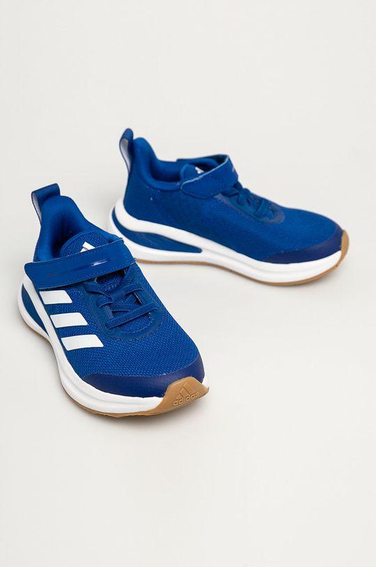 adidas Performance - Dětské boty FortaRun EL K gum modrá