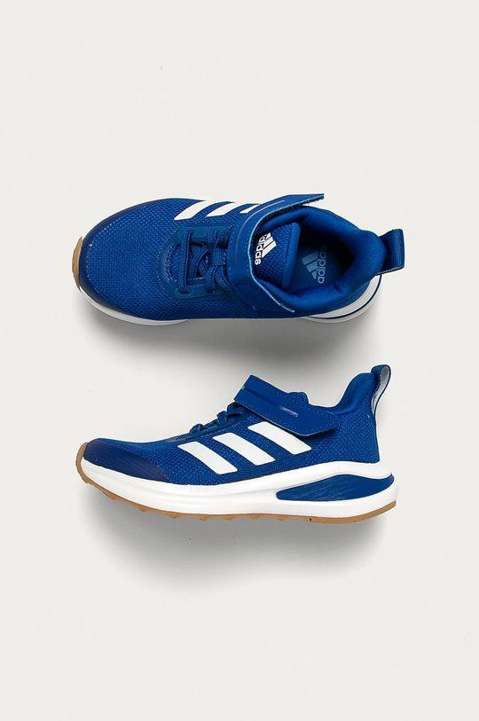 modrá adidas Performance - Dětské boty FortaRun EL K gum