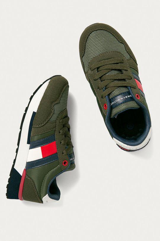 okrová Tommy Hilfiger - Dětské boty