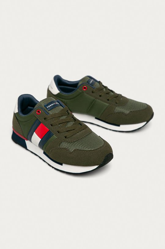 Tommy Hilfiger - Dětské boty okrová