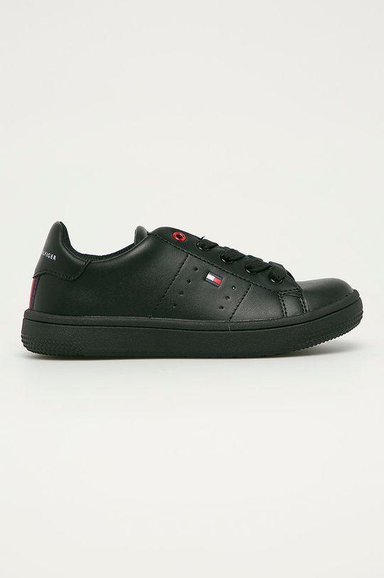 černá Tommy Hilfiger - Dětské boty Chlapecký
