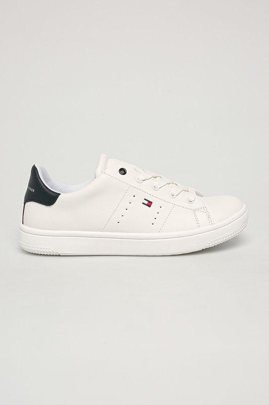 alb Tommy Hilfiger - Pantofi De băieți