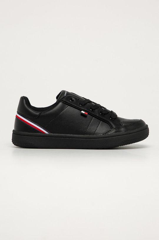 čierna Tommy Hilfiger - Detské topánky Chlapčenský