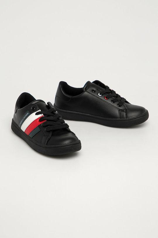 Tommy Hilfiger - Pantofi copii negru