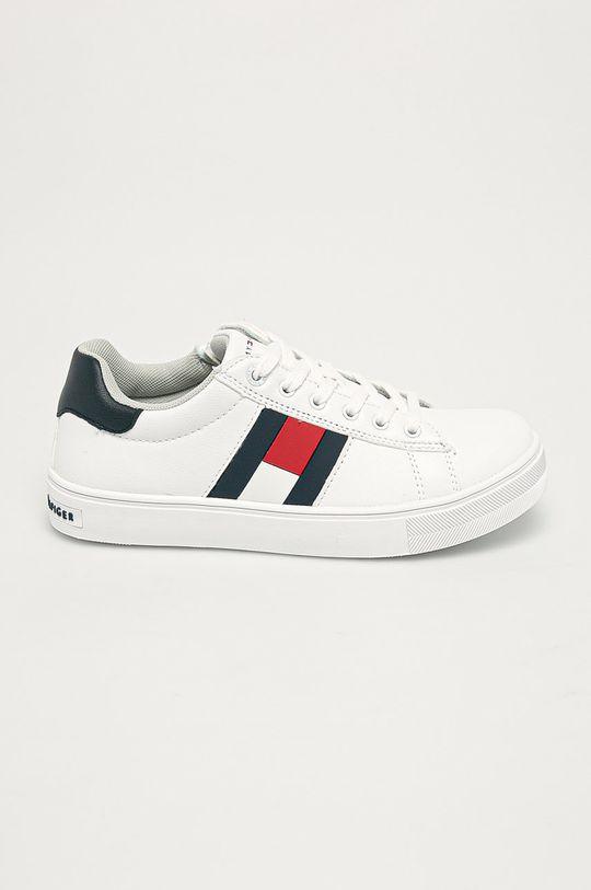biela Tommy Hilfiger - Detské topánky Chlapčenský