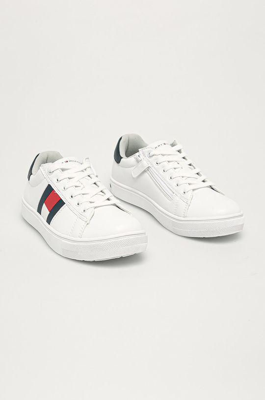 Tommy Hilfiger - Detské topánky biela