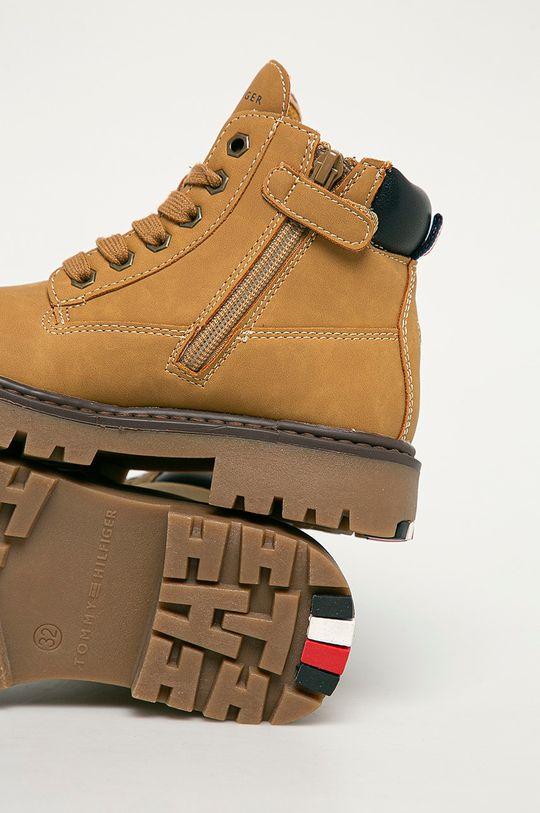 jantarová Tommy Hilfiger - Dětské boty