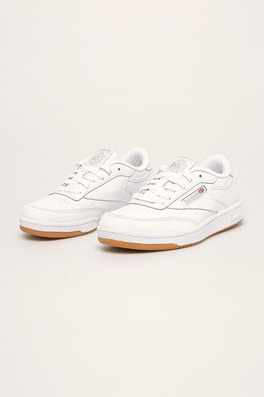 Reebok Classic - Detské topánky Club C biela