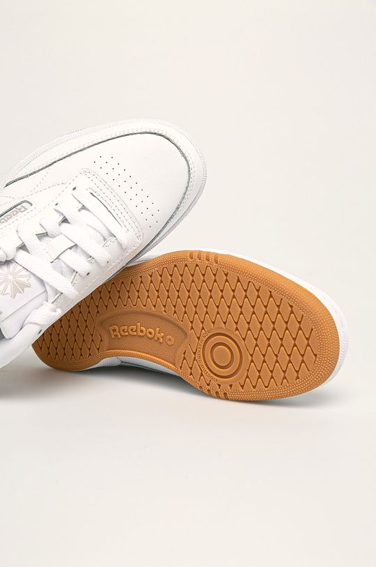 biela Reebok Classic - Detské topánky Club C