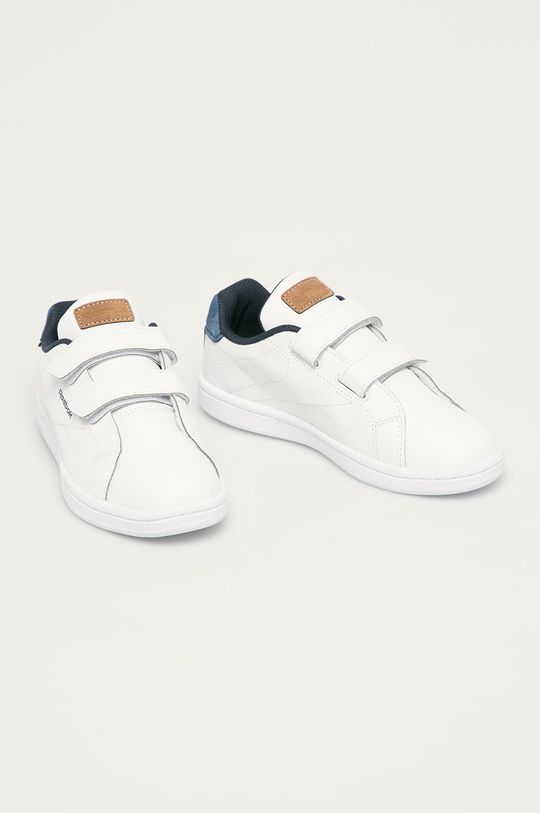 biela Reebok Classic - Detské topánky Royal Complete Cln 2v Chlapčenský