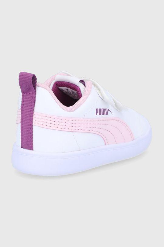 Puma - Dětské boty Courtflex v2 V Inf  Svršek: Umělá hmota Vnitřek: Textilní materiál Podrážka: Umělá hmota