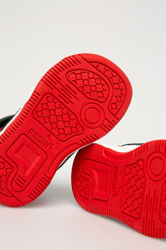 čierna Puma - Detské topánky Rebound Joy AC