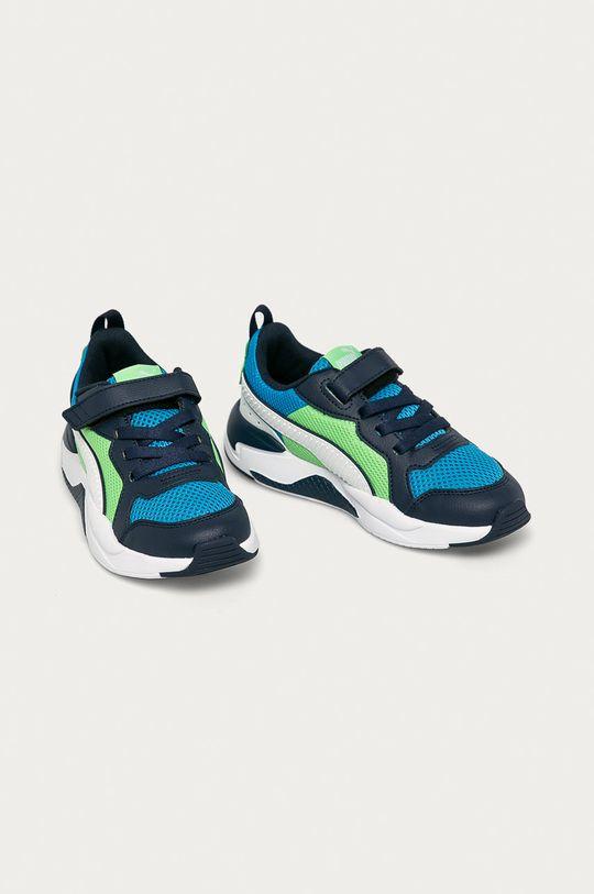 Puma - Pantofi copii X-Ray AC PS bleumarin