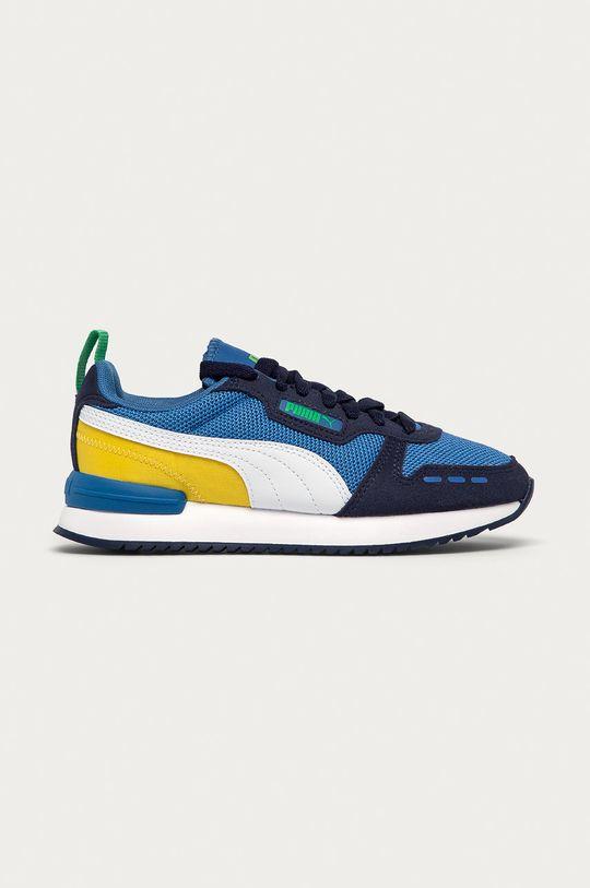 modrá Puma - Detské topánky R78 Jr Chlapčenský