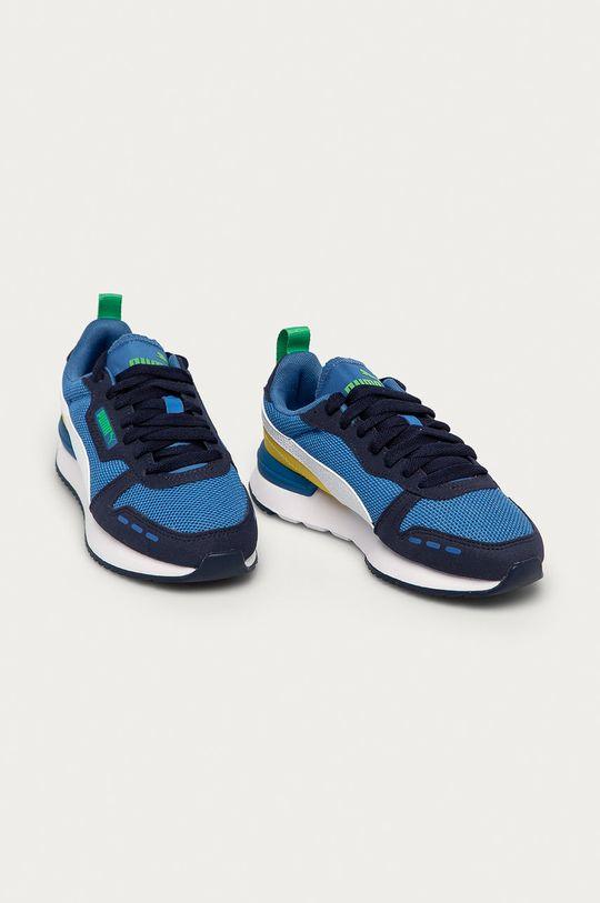 Puma - Detské topánky R78 Jr modrá
