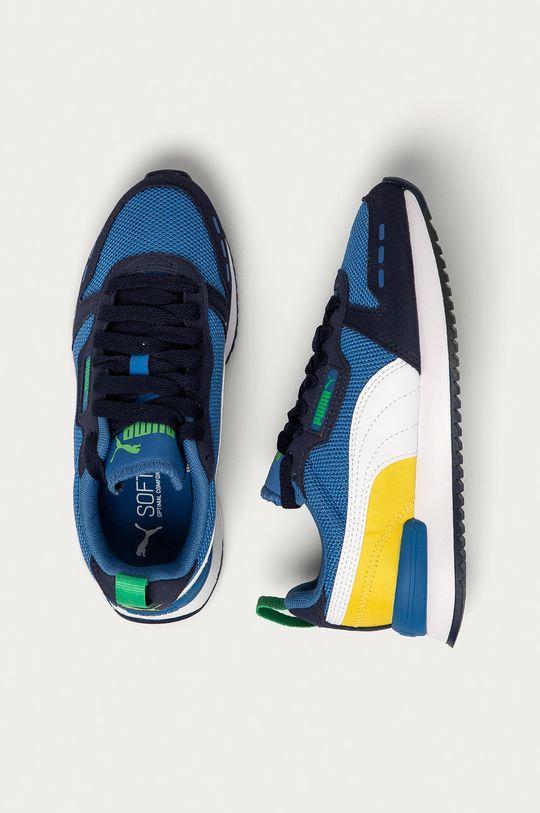 modrá Puma - Detské topánky R78 Jr