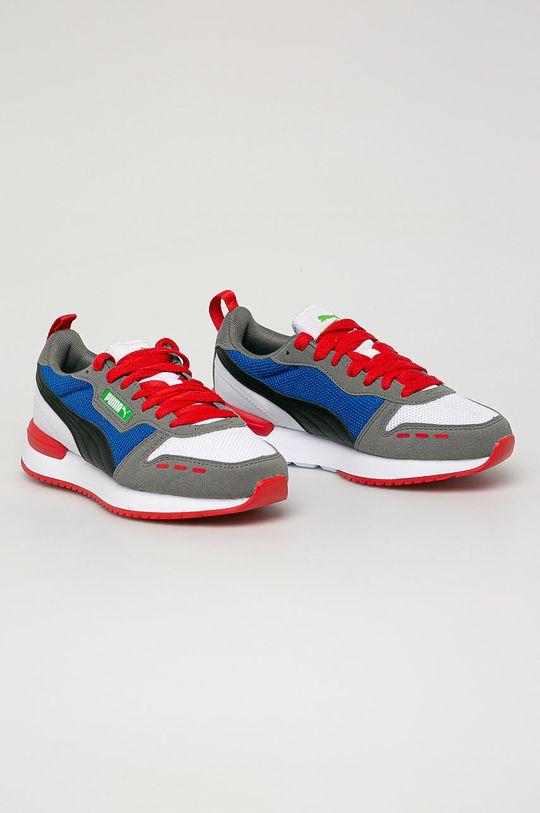 Puma - Dětské boty R78 Jr šedá