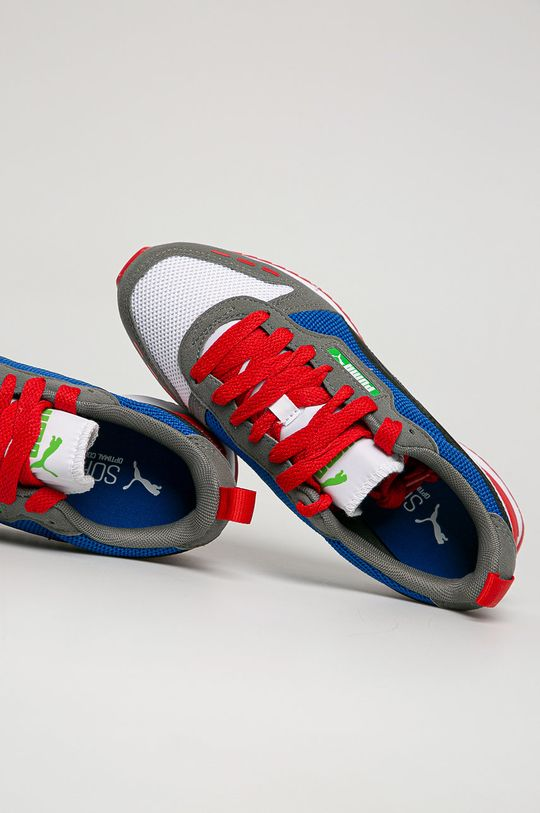 šedá Puma - Dětské boty R78 Jr