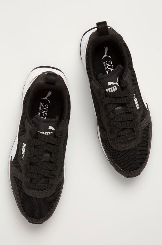 černá Puma - Dětské boty R78 Jr