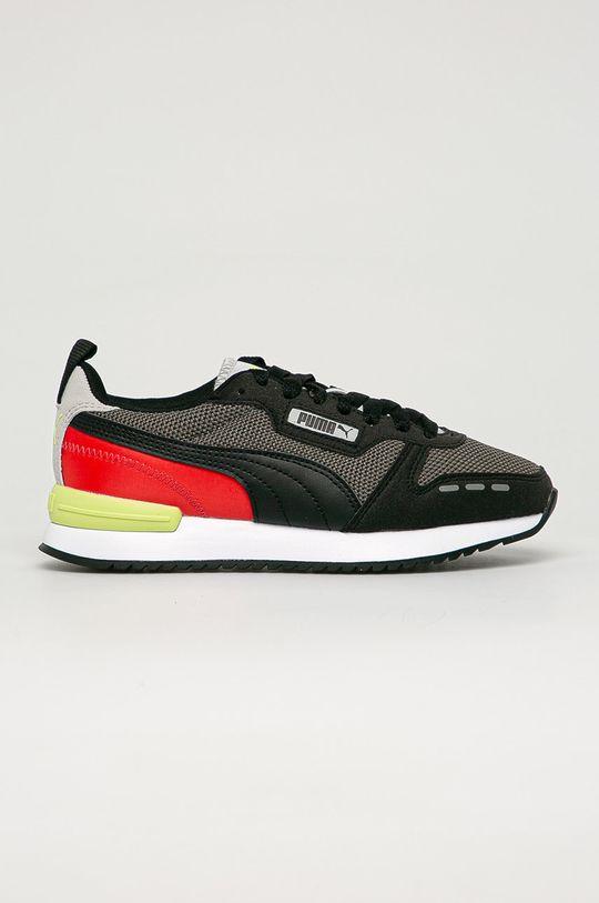 černá Puma - Dětské boty R78 Jr Chlapecký