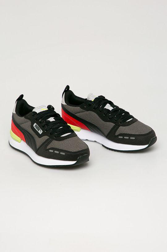 Puma - Dětské boty R78 Jr černá