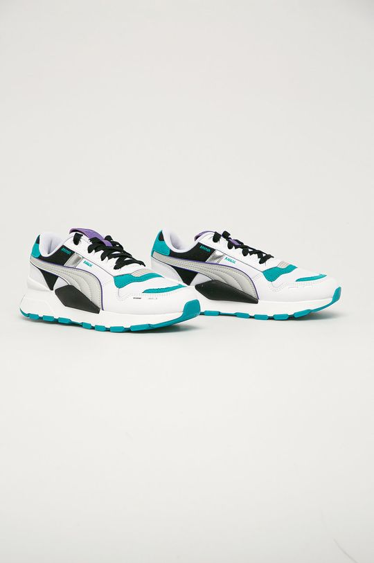 Puma - Pantofi copii RS 2.0 Futura alb