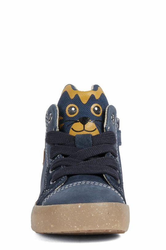Geox - Dětské kožené boty  Svršek: Textilní materiál, Přírodní kůže Vnitřek: Textilní materiál, Přírodní kůže Podrážka: Umělá hmota