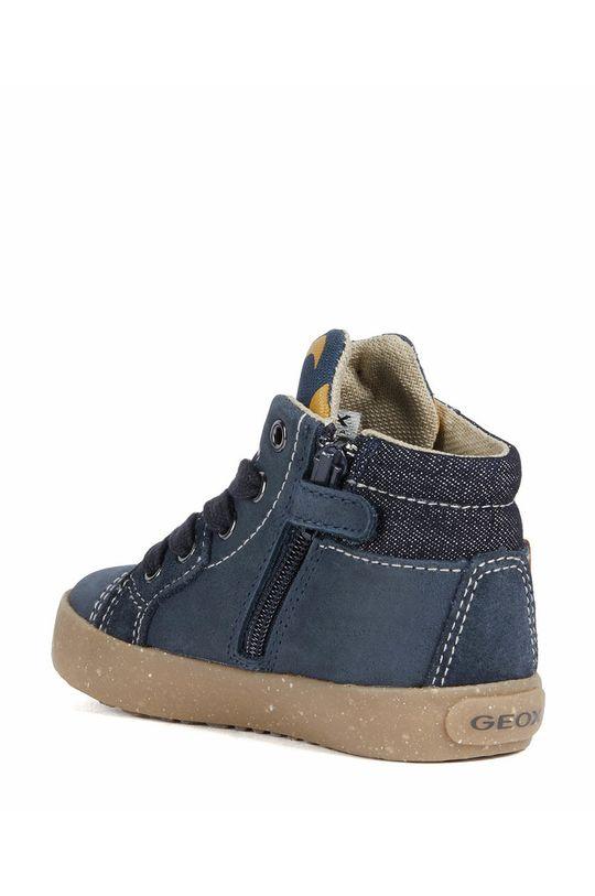 námořnická modř Geox - Dětské kožené boty