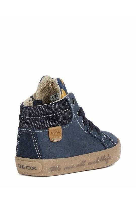 Geox - Dětské kožené boty Chlapecký