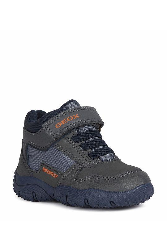 Geox - Detské topánky sivá