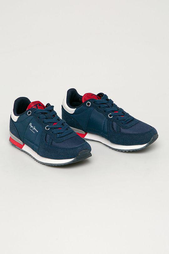 Pepe Jeans - Detské topánky Sydney tmavomodrá
