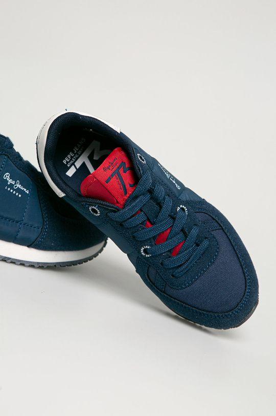 tmavomodrá Pepe Jeans - Detské topánky Sydney