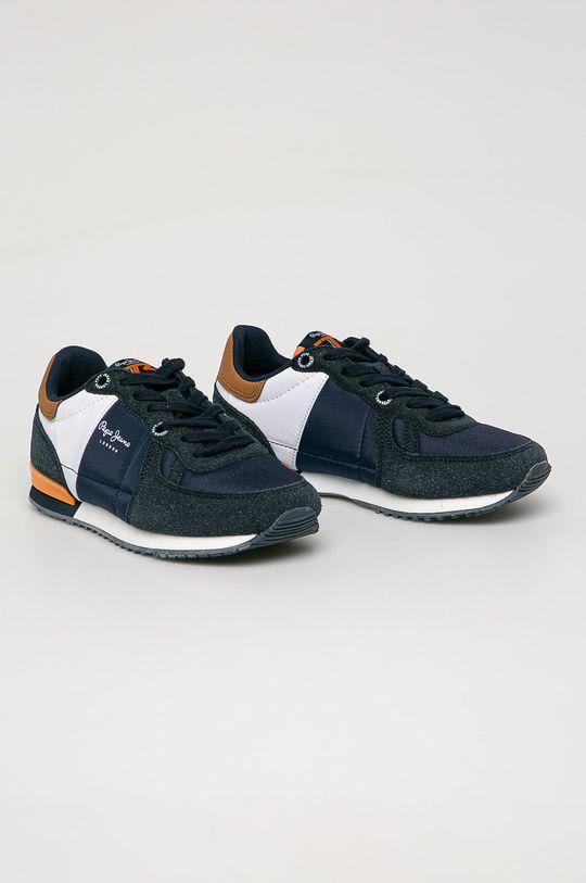 Pepe Jeans - Дитячі черевики SIdney Combi Boy темно-синій