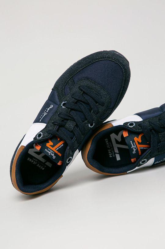 Pepe Jeans - Дитячі черевики SIdney Combi Boy  Халяви: Синтетичний матеріал, Текстильний матеріал Внутрішня частина: Текстильний матеріал Підошва: Синтетичний матеріал